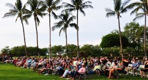BIFF Concert crowd